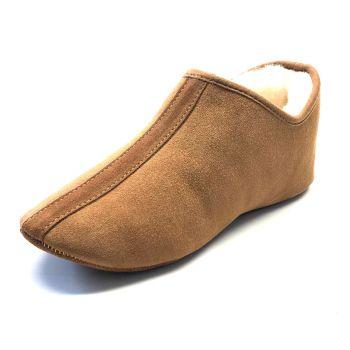 "Schapenvacht pantoffel ""Aladino"""