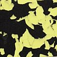 Nora Lunasoft SL color+ 2mm 9581 zwart/geel