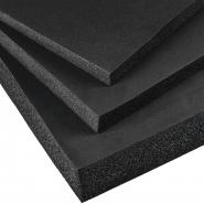 Plastazote zwart 100x100cm