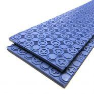 Vitamin hakrubber strook blauw 6mm 9cm