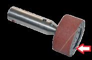 Schuurrol 75x190mm P120