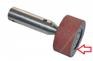 schuurrol 30x45mm p80