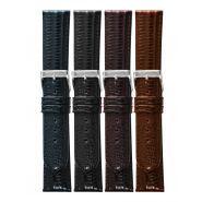 Horlogeband tejuprint 10mm XL 62206 m.bruin 23
