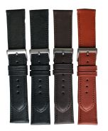 Horlogeband glad+stikn 12mm 62215C 10 zwart