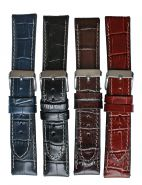Horlogeband 22mm 61324 crocoprint XL