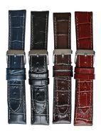 Horlogeband 24mm 61324 crocoprint XL