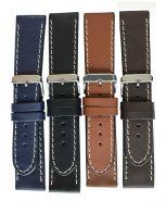 Horlogeband stoer 30mm 61330 10 zwart
