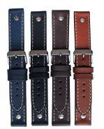 Horlogeband stoer 22mm 61331