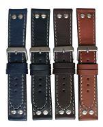 Horlogeband stoer 24mm 61333