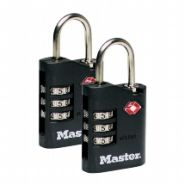 Master Lock 4686 DUO TSA kofferslot + cijfercode