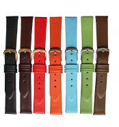 Horlogeband glad 18mm 91311D 08 grijs