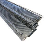 Carbon strip t.b.v. steunzool 0.1 x 2 x 100cm