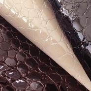 Calfs lakleer + croco print