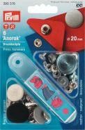Prym 390 376 20mm sierdrukker oudnikkel