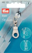 Prym Zipper 482121 nikkel rond