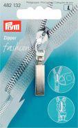 Prym Zipper 482132 nikkel lang