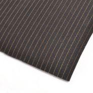 X-static zwart met PU folie 1.5m2