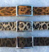 "Dames ceintuur ""Leopard"" 25mm"