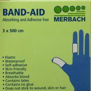 Merbach band-aid pleister 3x500cm