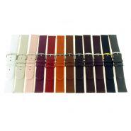 Horlogeband glad 22mm 61185D 11 wit