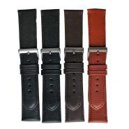 Horlogeband glad+stikn 14mm 62215D 23 m.bruin