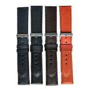 Horlogeband glad 12mm 62329 zwart 10 XL
