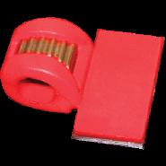 Veterlussen 490-25 pvc rood