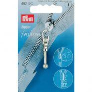 Prym Zipper 482120 nikkel lang