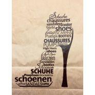 "Papier draagtas 28x38/15 cm ""Schoenen"" 250st"