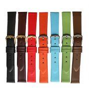 Horlogeband glad 18mm D 91311 08 grijs