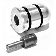 Adapter 10mm t.b.v. schuurhoes 45mm