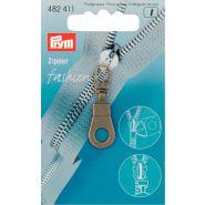 Prym Zipper 482411 brons rond