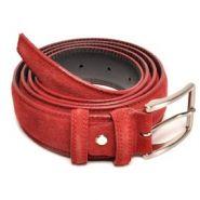 Sl Bono ceintuur 35mm suede rood