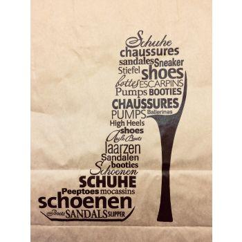 """Papier draagtas """"Schoenen.."""" actie à 2 dozen"""