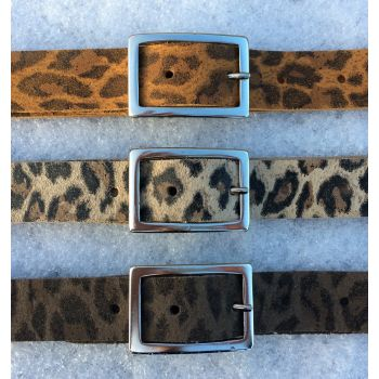 "ceintuur ""Leopard"" dames 25mm"
